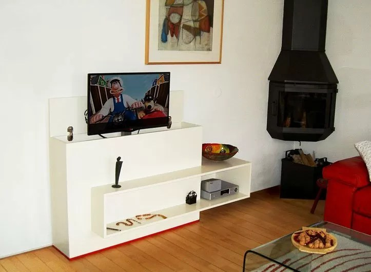 Diy Modern Tv Stand With Lift 39astor39 By Marcel