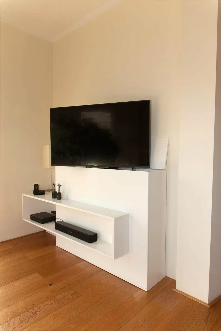 Diy Furniture Plan For Design Tv Stand With Lift Astor - Design Tv Meubel Met Led Verlichting