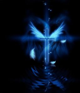 羽根と十字架(5パターン)