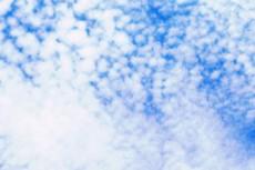 満天のうろこ雲
