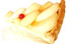 リンゴのタルトの写真素材