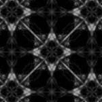 格子状の硬質な感じの幾何学模様(4パターン)
