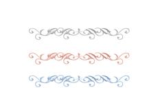 エレガントな区切り線(8パターン)