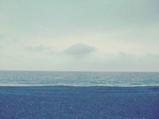 【高解像度】静かな波打ち際(3パターン)