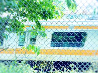 【高解像度】新緑と中央線