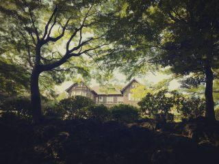 【高解像度】旧古河庭園の西洋館