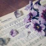【高解像度】リューココリーネとアメイジング・グレイスの楽譜(3パターン)