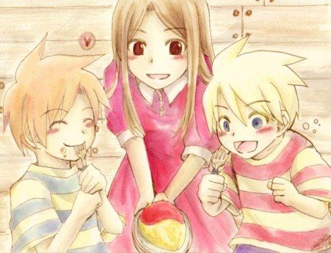 Hinawa y sus hijos