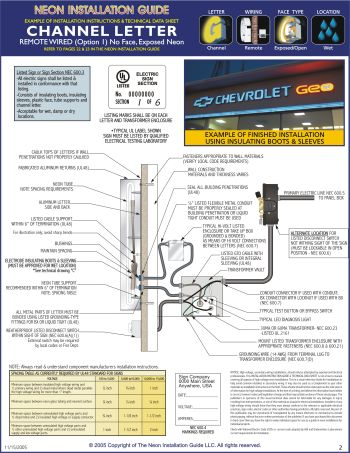 Signs Wiring Diagram Wiring Diagrams