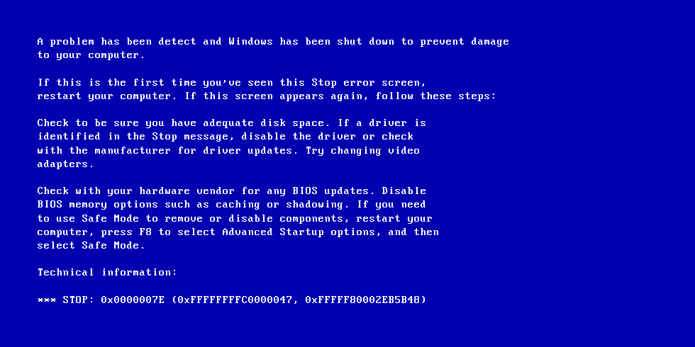 Animated Wallpaper For Laptop Windows 7 Fix Blue Screen Of Death Bsod Errors In Windows 7