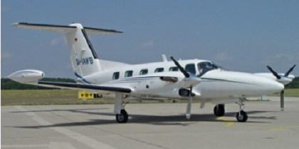 Медицинский самолет Piper Pa-42 Cheyenne IIIa