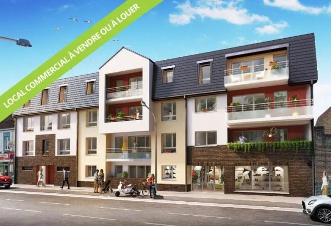 Programme immobilier Neoximo 111 à Wattignies - Local commercial à vendre ou à louer