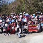 Easter Rally at Geyzing, West Sikkim