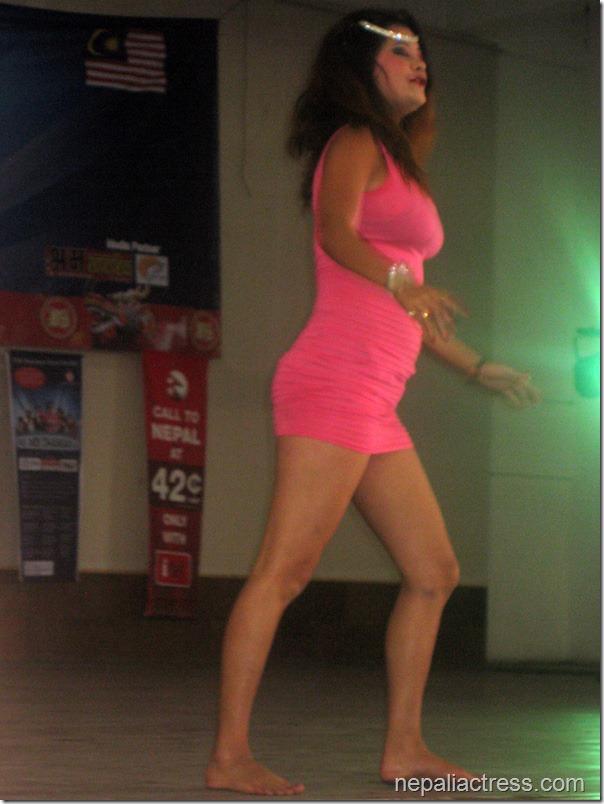 Sushma Karki Shows Undies In Malaysia