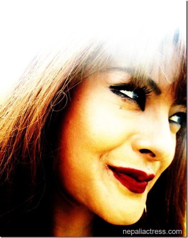 Sushma Karki close up