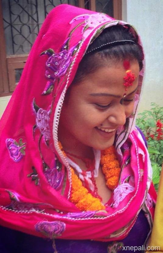 rekha-thpaa-puja-yagya-and-marriage-to-tree-1