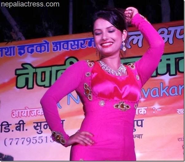 sumina ghimire in stage shows