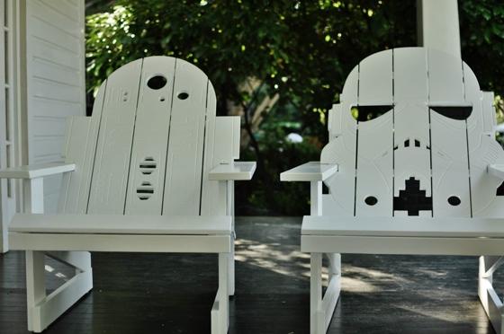 Star Wars Deck Chairs By Amberle Linnea Nerd Crafting
