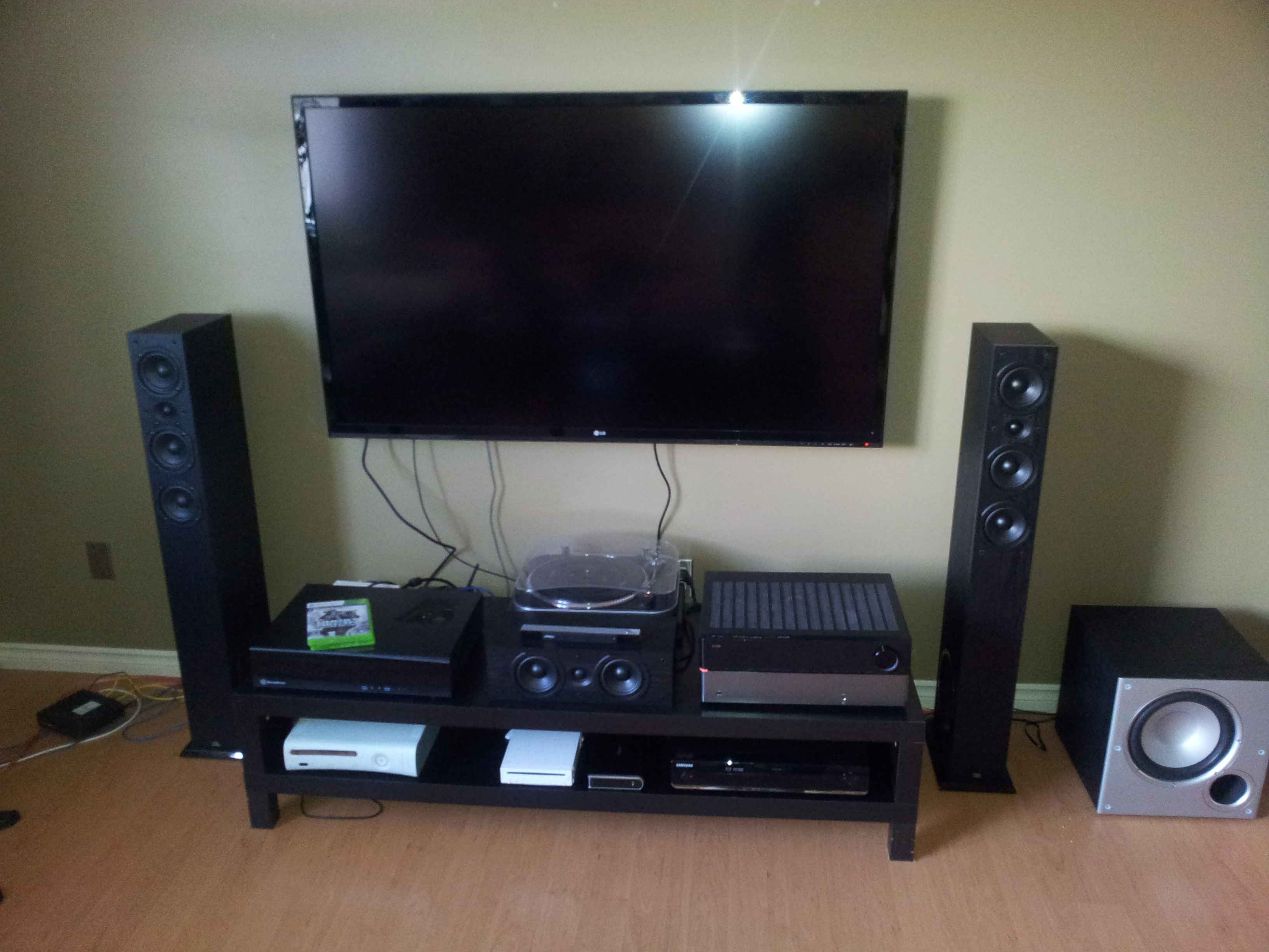 Home Entertainment Setup The Device That Saved My Home Theatre Nerd Drivel