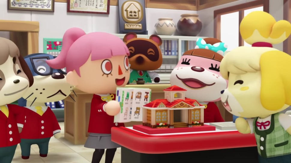Game Review ANIMAL CROSSING HAPPY HOME DESIGNERu2013Create Your Own - home design game