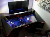 This Guy Built a Custom PC Gaming Desk, and Its Rad | Nerdist