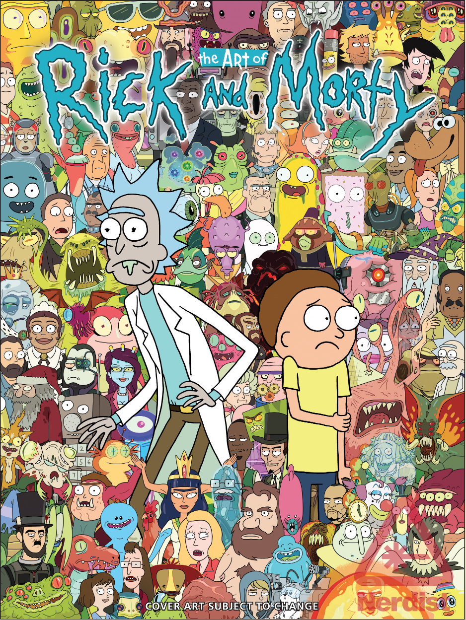 Rick And Morty Wallpaper Iphone Get Schwifty With The Art Of Rick And Morty Exclusive