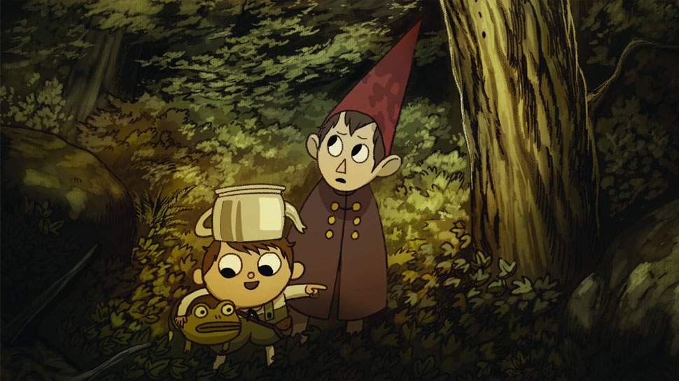 Forest Animated Wallpaper The Art Of Over The Garden Wall Takes Us Inside The