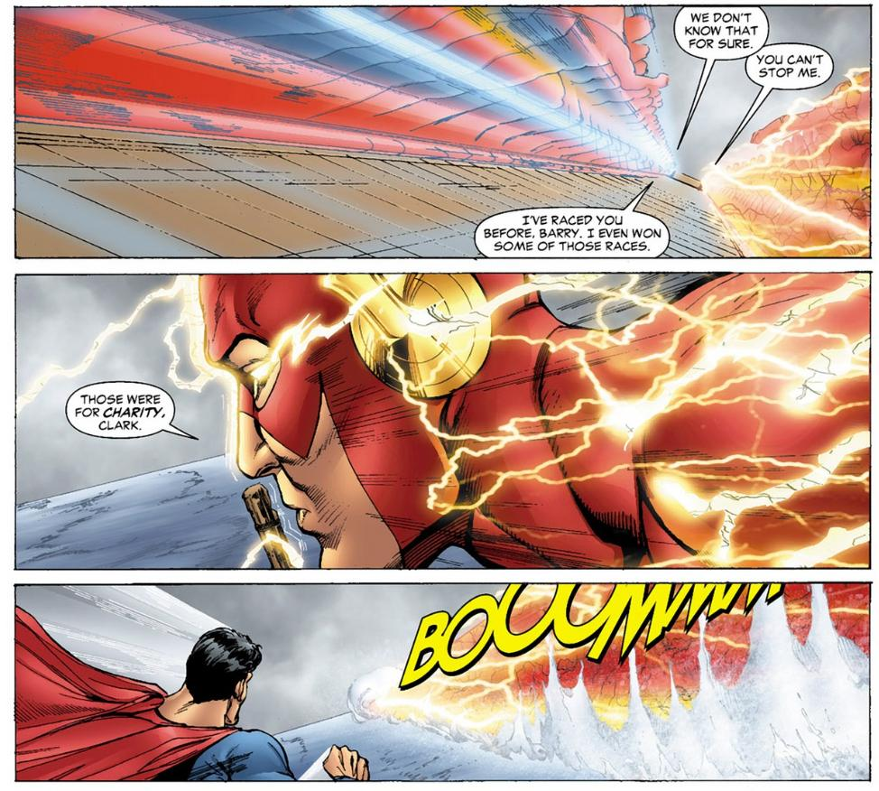 3 Flash A Brief History Of Why The Flash Is Faster Than Superman Nerdist