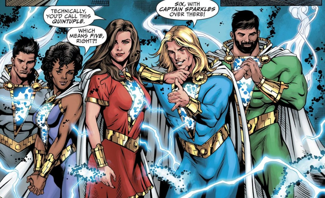 Dc Superhero Girls Wallpaper The Comic Book History Of The Shazam Family Nerdist. The Comic Book History Of The Shazam Family Nerdist