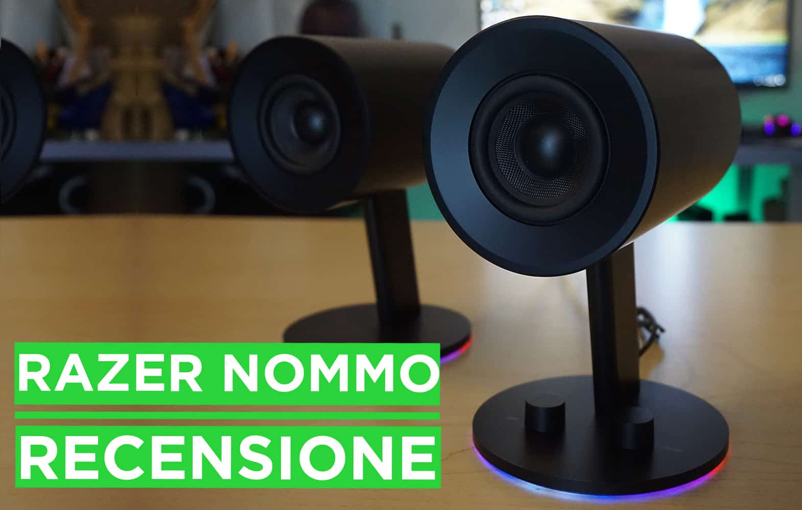 Collegare Altoparlanti Esterni Al Pc Razer Nommo Chroma Speaker Recensione Nerdmovieproductions