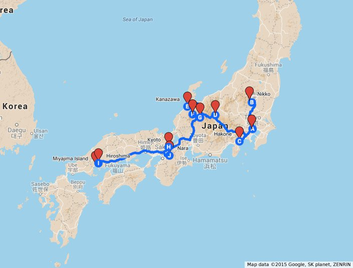 Japan Two Week Itinerary - Nerd Nomads - best of world map with japan