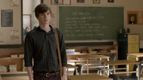 Don't mind me, Miss Watson. Just an impressionable teenage boy ripe for the seduction...