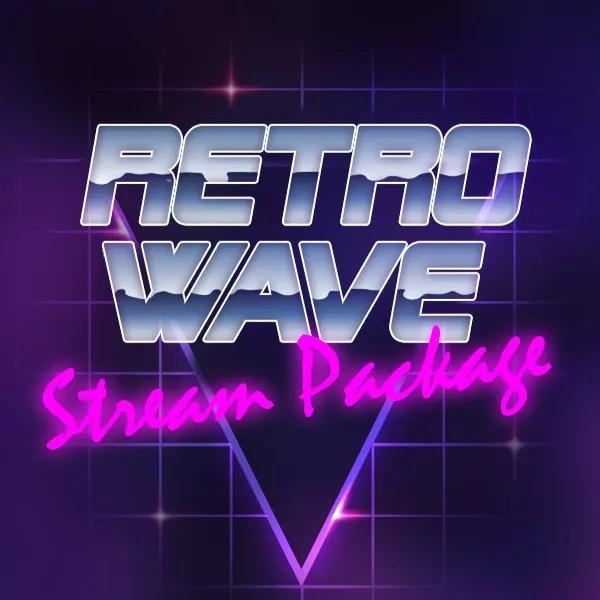 Retrowave Stream Package - Nerd or Die