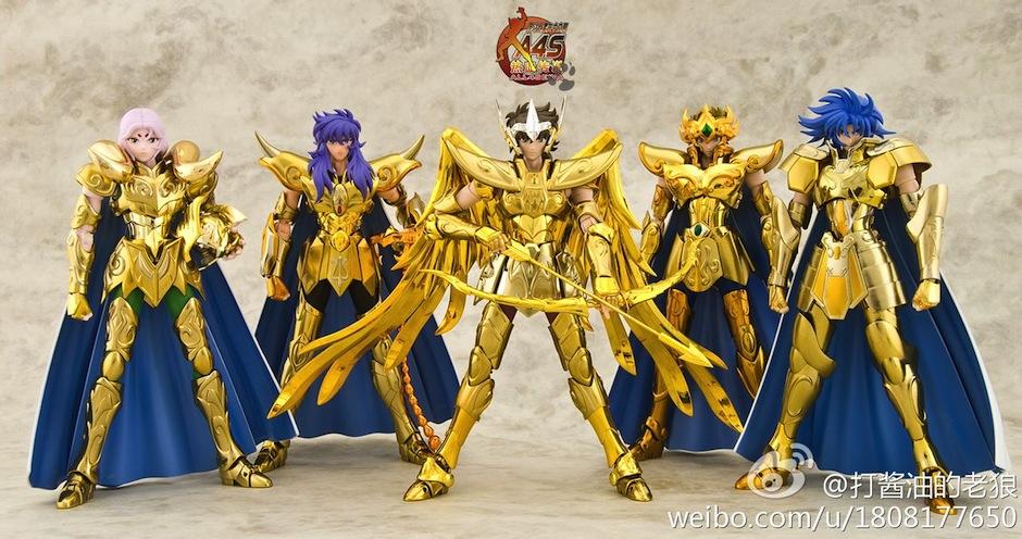 E só o vencedor pode vestir sua armadura de ouro - 02