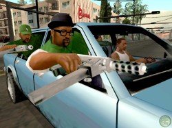 ... play Rockstar Games' highly acclaimed Grand Theft Auto: San Andreas