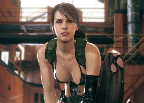 Cute Wallpapers For Girl Rooms Play With Quiet From Metal Gear Solid V The Phantom Pain