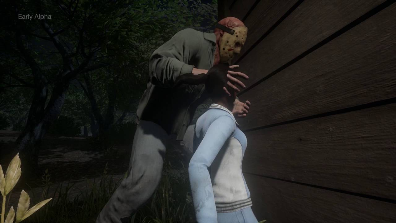 Hockey Girl Wallpaper Friday The 13th The Game World Gameplay Premiere Nerd