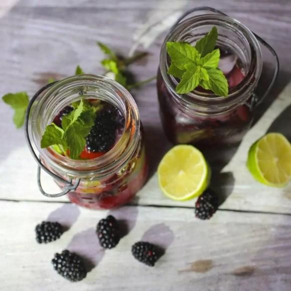 Blackberry-Ginger Fizz