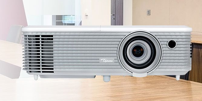 Optoma EH400+ 1080p Bright Presentation Projector Review - Nerd Techy - presentation projectors