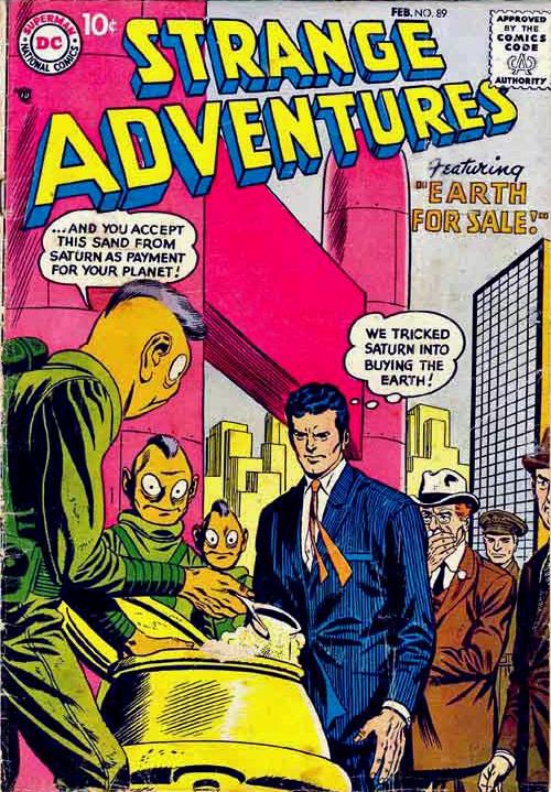 Strange Adventures #89 - February 1958