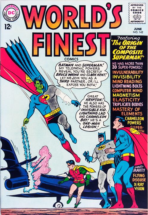 World's Finest #142 - June, 1964