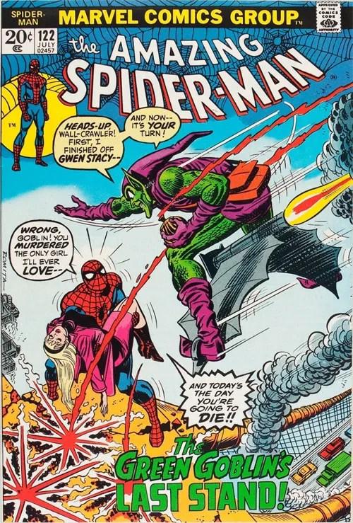 Amazing Spider-Man #122 - July, 1973