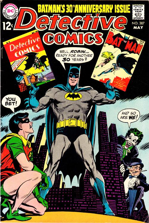 Detective Comics #387 – May, 1969