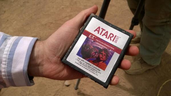 E.T. Atari dig
