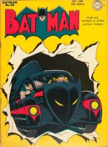 Batman #20, December, 1943