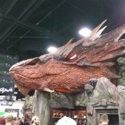 Life-sized Smaug at the Weta exhibit-San Diego Comic-Con 2014