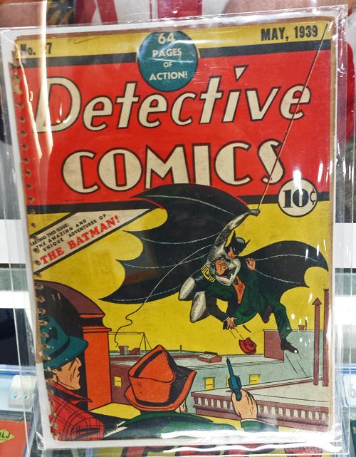 Detective Comics #27 – May, 1939