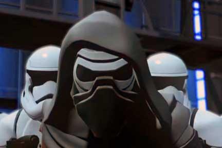Disney Infinity 3.0 The Force Awakens playset Kylo Ren