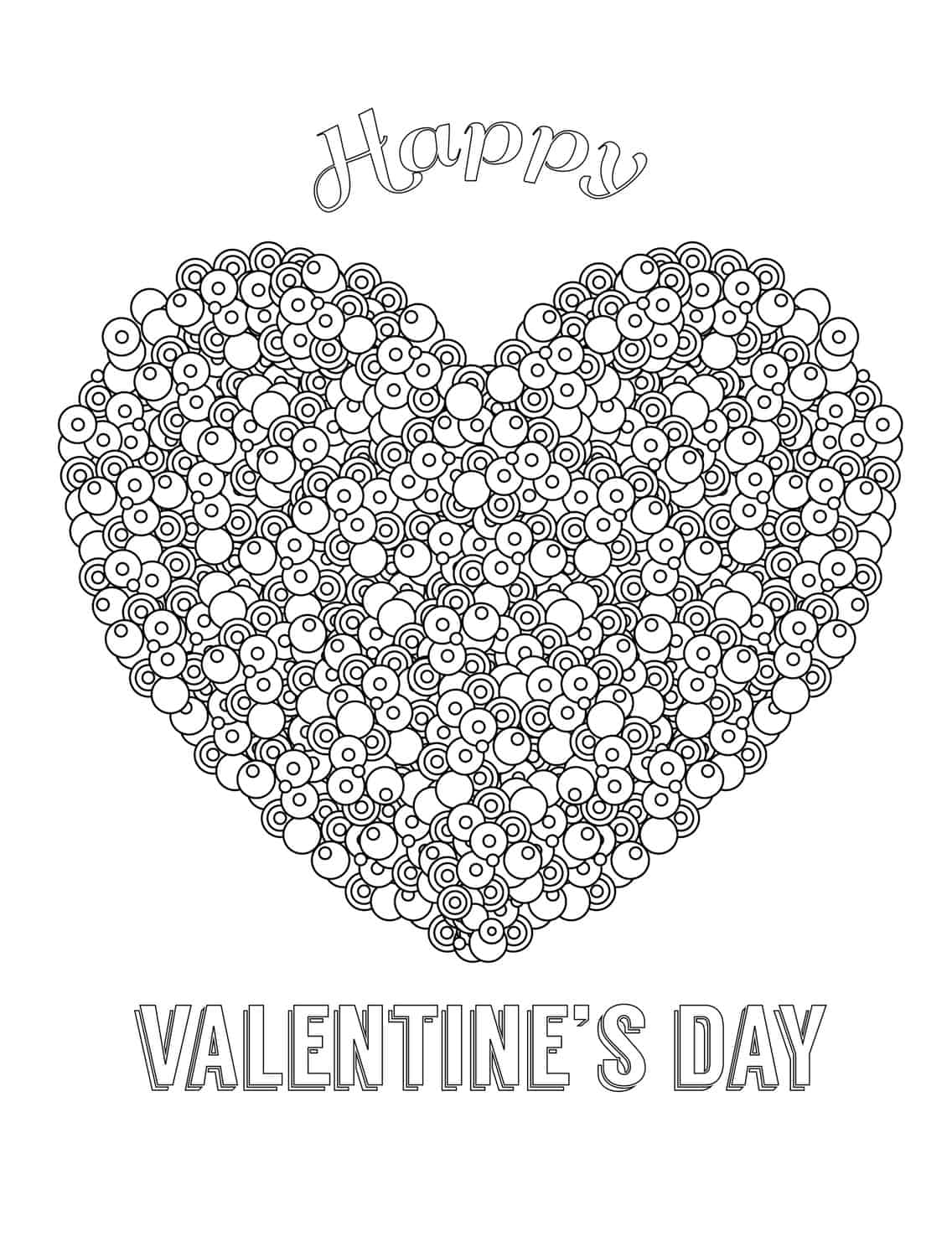 Coloring pages for adults valentines day - Coloring Pages For Adults Valentines Day 6