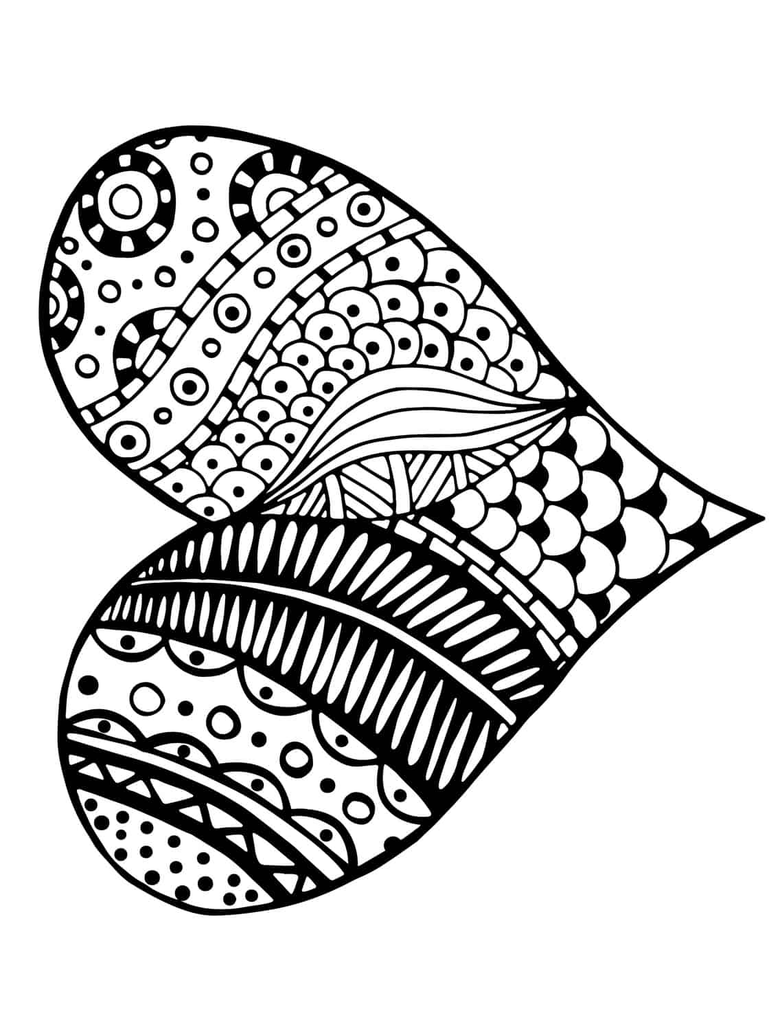Love is printable coloring pages -  Love Printable Adult Coloring Page Download